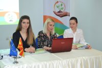 Press conference in Macedonia